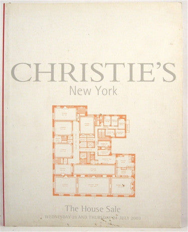 Christie's New York The House Sale  23 July 2003