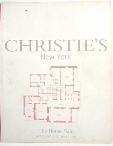 Christie's New York  The House Sale Wednesday 6 February 2003