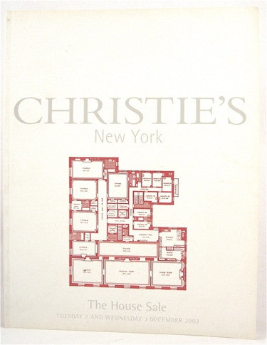 Christie's  The House Sale  2 & 3 December, 2003