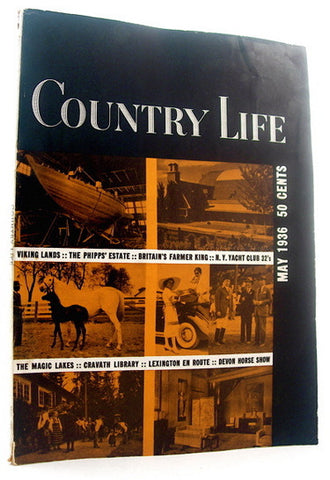Country Life magazine May 1936