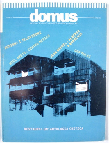 Domus magazine 716 april 1990 high valley books for Domus book collection