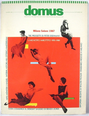 Domus Magazine September 1987 no. 686