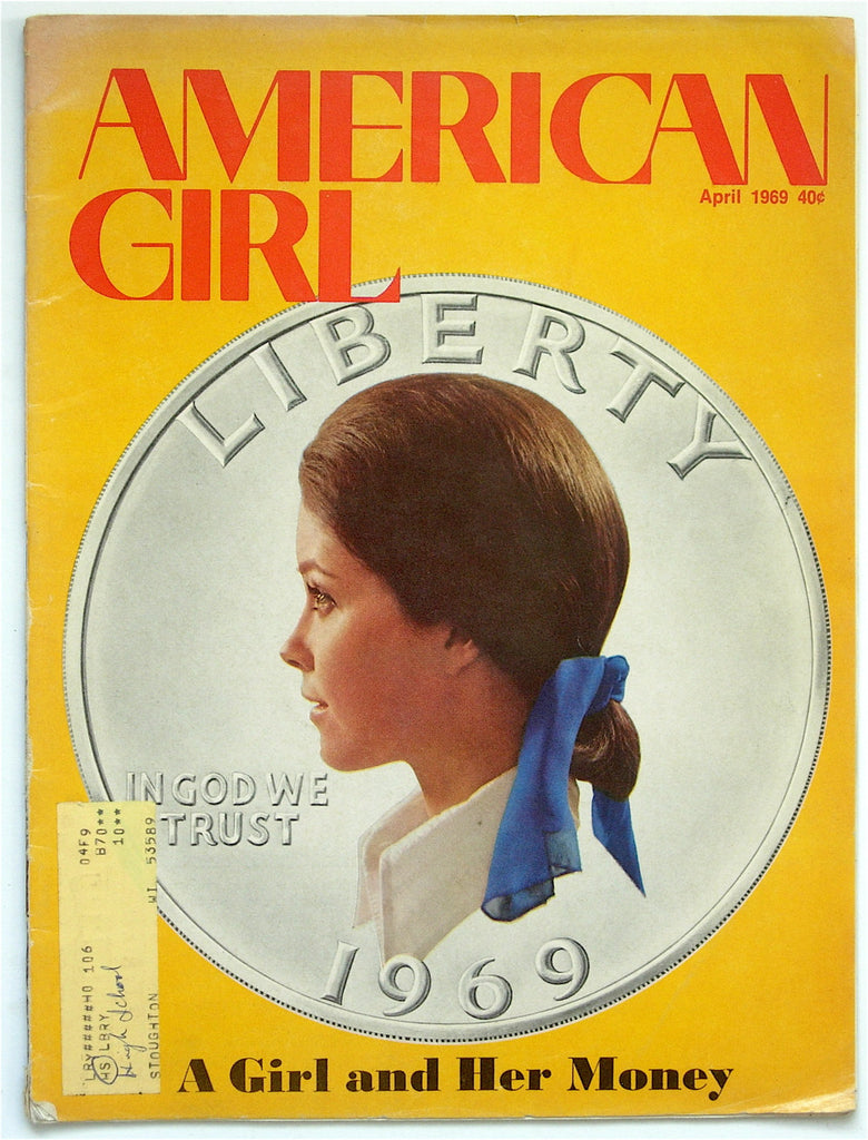 American Girl magazine April 1969