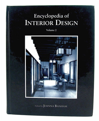 Encyclopedia of Interior Design  Volume 2  M-Z