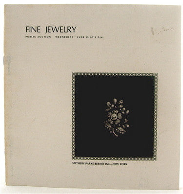 Fine Jewelry  Public Auction  Including the estate of Ruth Pratt Bobbs.
