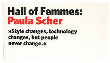 Hall of Femmes: Paula Scher