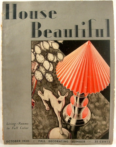 House Beautiful October 1930