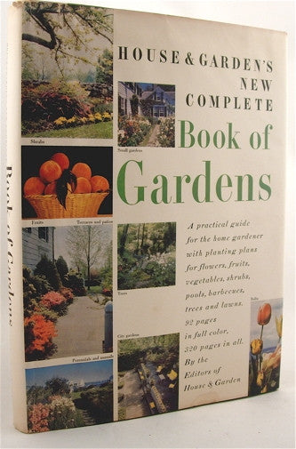 House & Garden's New Complete Book of Gardens 1955
