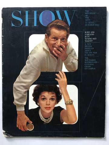 Show magazine October 1963 Judy Garland
