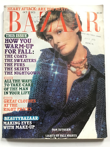 Harper's Bazaar October 1973