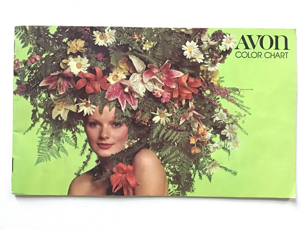 Avon Color Chart 1973