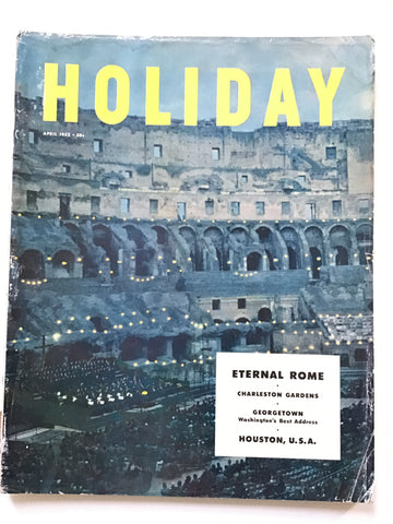 Holiday magazine April 1952