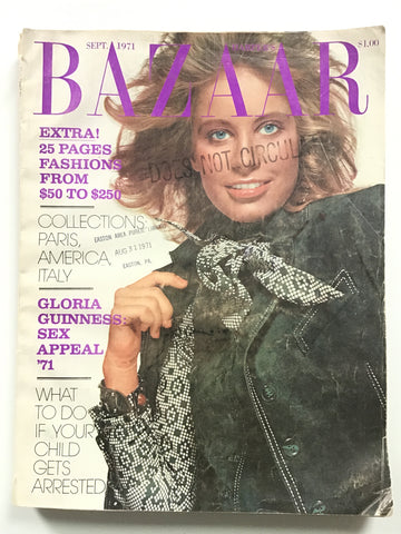 Harper's Bazaar September 1971