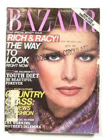 Harper's Bazaar October 1977