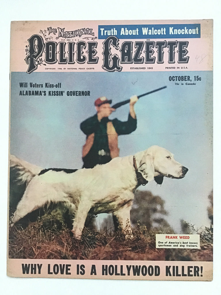 The National Police Gazette October 1948