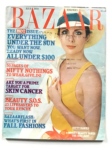 Harper's Bazaar July 1973