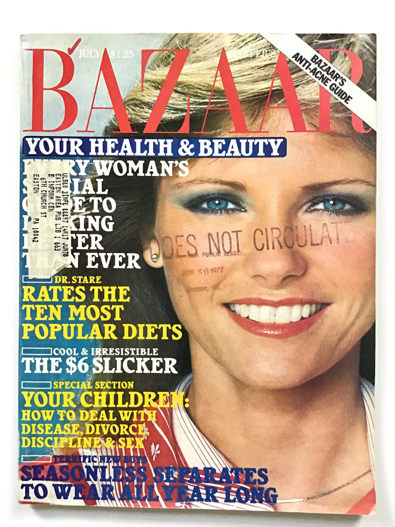 Harper's Bazaar July 1977