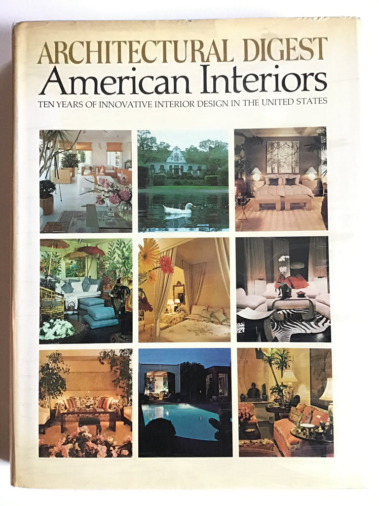 Architectural Digest : American Interiors