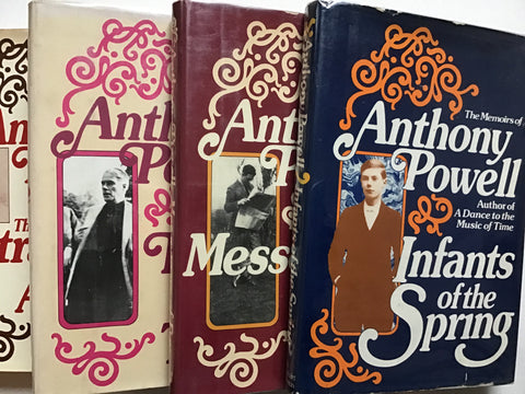 Infants of the Spring / Messengers of Day / Faces in My Time / The Strangers are all Gone By Anthony Powell memoirs