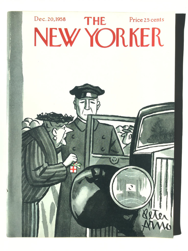 The New Yorker magazine December 20, 1958