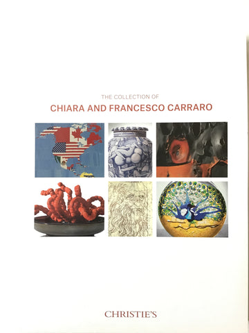 The Collection of Chiara and Francesco Carraro