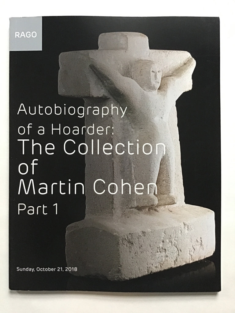 Autobiography of a Hoarder : The Collection of Martin Cohen part 1