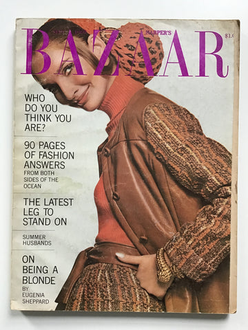 Harper's Bazaar September 1969