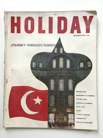Holiday magazine September 1962