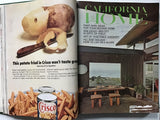 California Home magazine 1964 bound