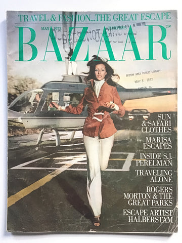 Harper's Bazaar May 1972