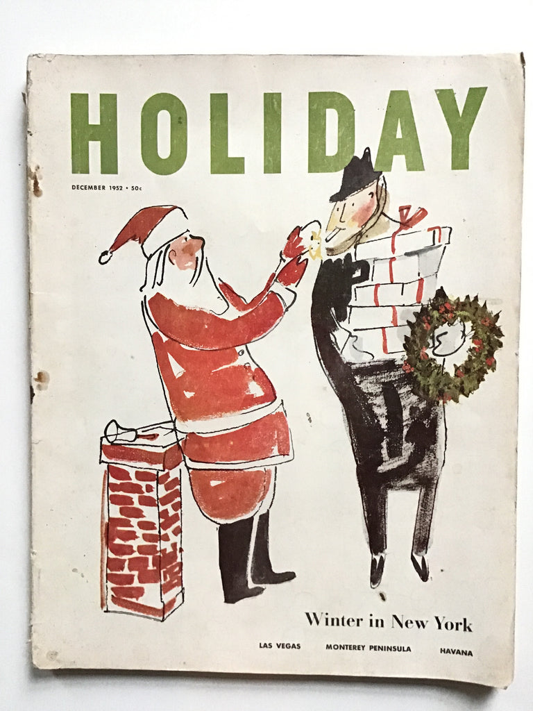 Holiday magazine December 1952