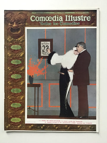 Comoedia Illustre 20 Octobre 1912