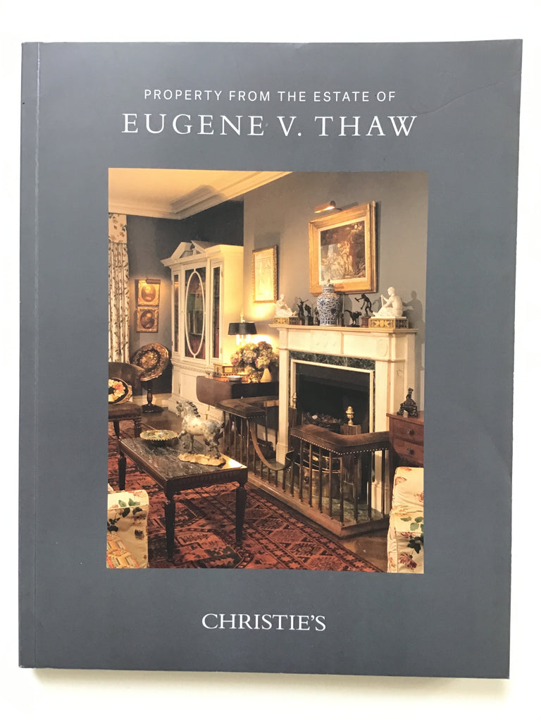 Property From the Estate of Eugene V. Thaw