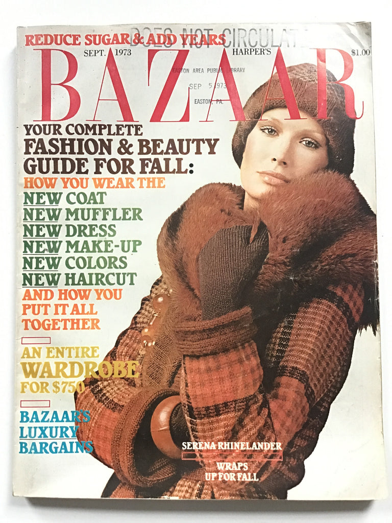 Harper's Bazaar September 1973