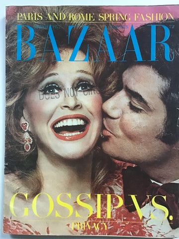 Harper's Bazaar March 1972