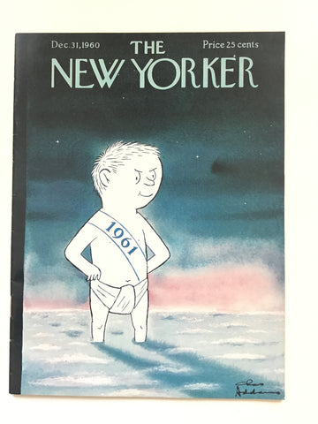 The New Yorker magazine Dec. 31, 1960 charles addams