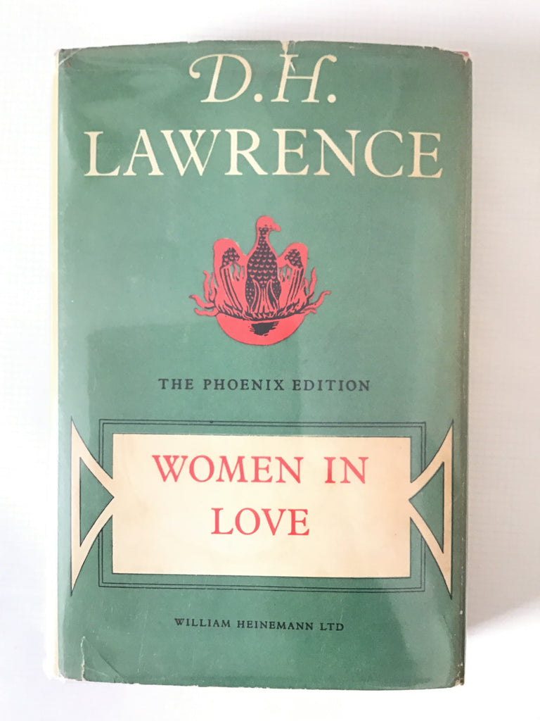 D. H.  Lawrence Women in Love phoenix edition