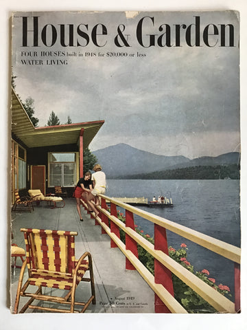 House and Garden August 1949–Ayn Rand & Richard Neutra