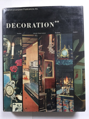 Decoration hachette French interior color