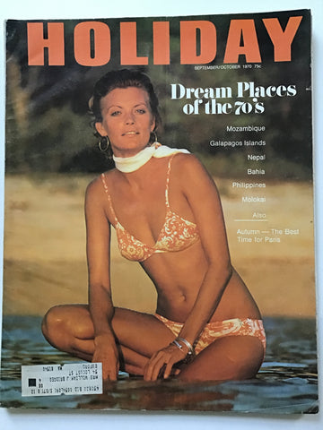 Holiday magazine September/December 1970