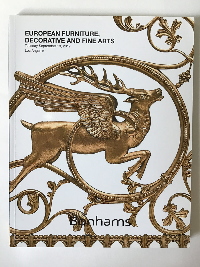 European Furniture, Decorative and Fine Arts Bonhams