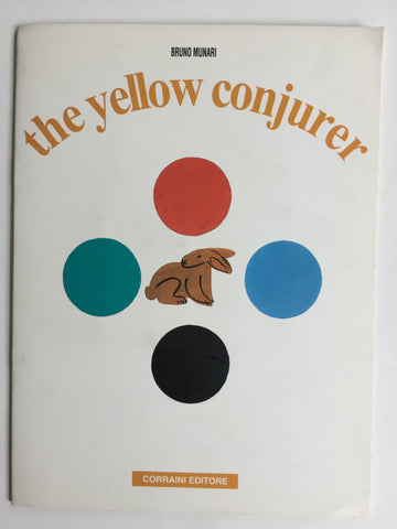 Bruno Munari he yellow Conjurer the