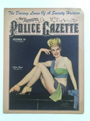 The National Police Gazette December 1945