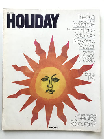 Holiday magazine June 1969