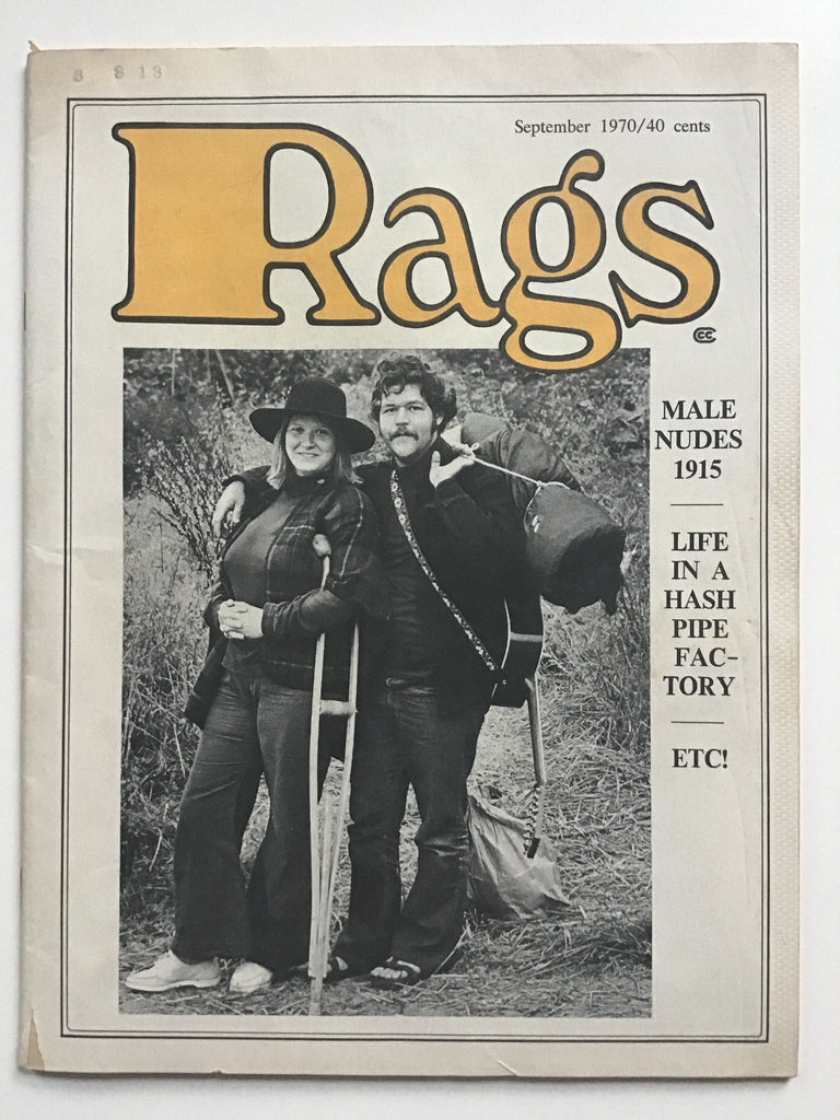 Rags magazine September 1970