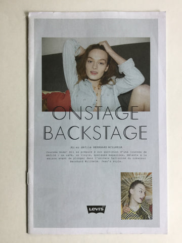 Onstage Backstage  (French Levi's promotional piece)