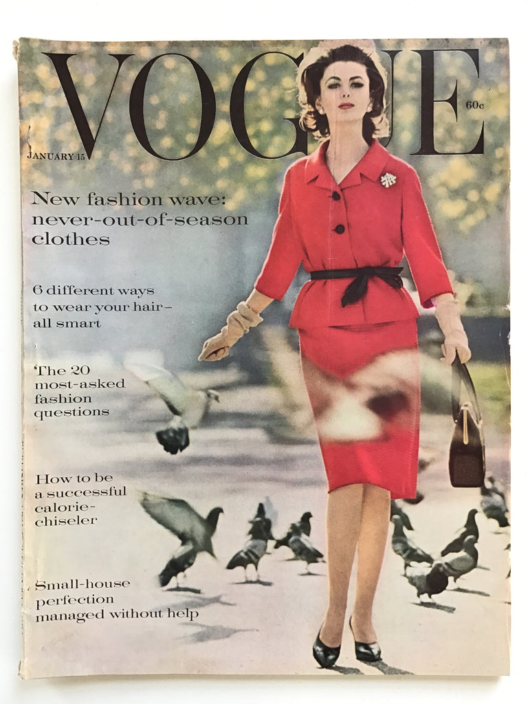 Vogue magazine January 15, 1961 I. M. Pei