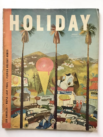 Holiday magazine January 1950 george nelson