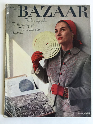Harper's Bazaar August 1944
