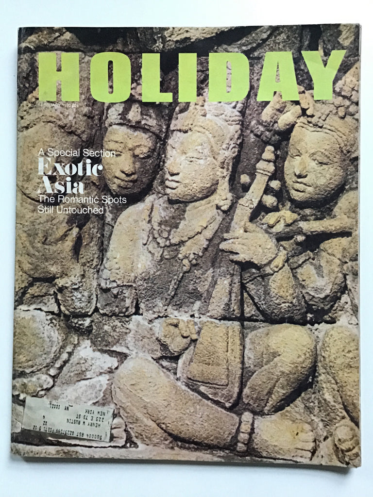 Holiday magazine February 1970